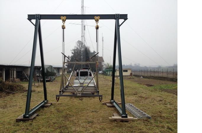 costruire cavalletto gru per officina Crane-8-jpg