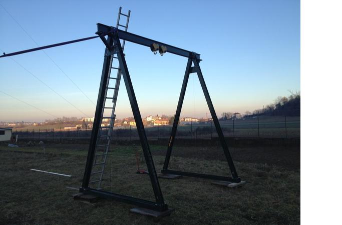 costruire cavalletto gru per officina Crane-jpg
